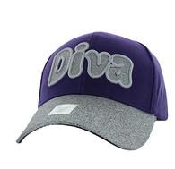 VM628 Diva Velcro Cap (Purple)