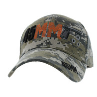 VM663 Gun 45 mm Velcro Cap (Solid Digital Camo)