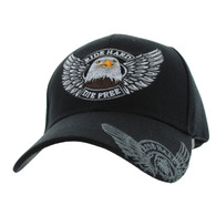 VM176 Choppers Velcro Cap (Solid Black)