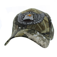 VM176 Choppers Velcro Cap (Solid Hunting Camo)