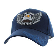 VM176 Choppers Velcro Cap (Solid Navy)