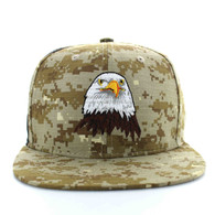SM598 Eagle Cotton Snapback Cap (Digital Camo & Digital Camo)