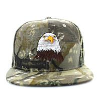 SM598 Eagle Cotton Snapback Cap (Hunting Camo & Hunting Camo)