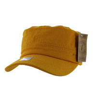 VP085 Washed Cotton Castro Caps (Gold)