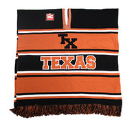 WP010 Winter Texas Poncho (Black & Texas Orange)