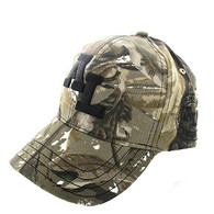 VM743 Alabama State Velcro Cap (Solid Hunting Camo)