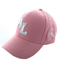 VM743 Alabama State Velcro Cap (Soild L.Pink)