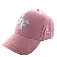 VM743 San Francisco City Velcro Cap (Soild Light Pink)