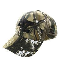 VM743 Arizona State Velcro Cap (Solid Hunting Camo)