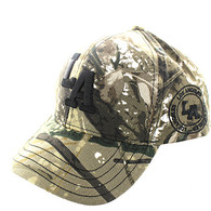 VM743 Los Angeles City Velcro Cap (Solid Hunting Camo)