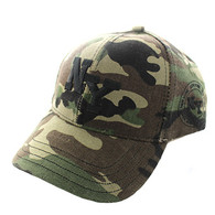 VM743 New York City Velcro Cap (Solid Military Camo)