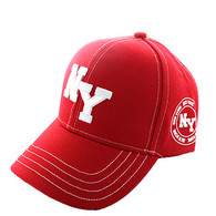 VM743 New York City Velcro Cap (Solid Red)