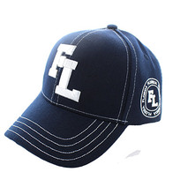 VM743 Florida State Velcro Cap (Solid Navy)