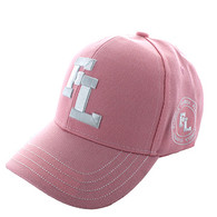 VM743 Florida State Velcro Cap (Solid Light Pink)