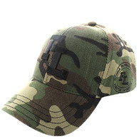 VM743 Florida State Velcro Cap (Solid Military Camo)