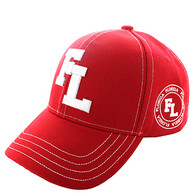 VM743 Florida State Velcro Cap (Solid Red)