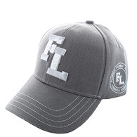 VM743 Florida State Velcro Cap (Solid Light Grey)