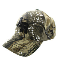 VM743 Arkansas State Velcro Cap (Solid Hunting Camo)