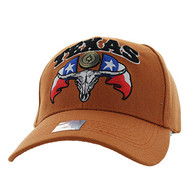 VM273 Texas State Velcro Cap (Solid Texas Orange)