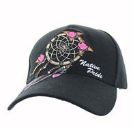 VM635 Dream Catcher Velcro Cap (Solid Black)