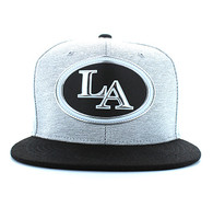 SM794 Los Angeles City Snapback (White Grey & Black)