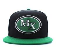 SM794 Mexico Snapback (Black & Kelly Green)