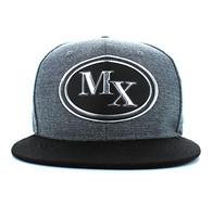 SM794 Mexico Snapback (Charcoal Grey & Black)