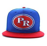 SM794 Puerto Rico Snapback (Royal Blue & Red)