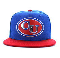 SM794 Cuba Snapback Cap (Royal Blue & Red)