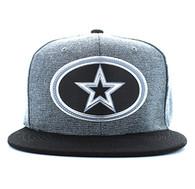 SM794 Big Star Snapback (Charcoal Grey & Black)
