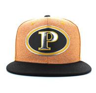 SM794 Pittsburgh City Snapback (Gold & Black)