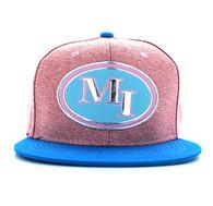 SM794 Miami City Snapback (Pink & Aqua)