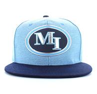 SM794 Miami City Snapback (Sky Blue & Navy)