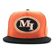 SM794 Miami City Snapback (Orange & Black)