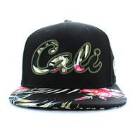 "SM486 ""Cali"" Snapback (Black & Flower)"