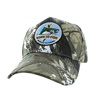 VM688 Fishing Cotton Velcro Cap (Hunting Camo & Hunting Camo)