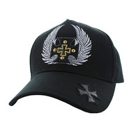 VM733 Choppers Cotton Baseball Cap (Solid Black)