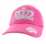 VM479 Princess Cotton Buckle Cap (Solid Light Pink)