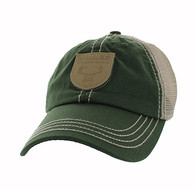 VM710 Hunt Outdoor Sports Mesh Velcro Cap (Olive & Khaki)