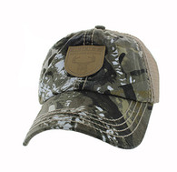 VM710 Hunt Outdoor Sports Mesh Velcro Cap (Hunting Camo & Khaki)