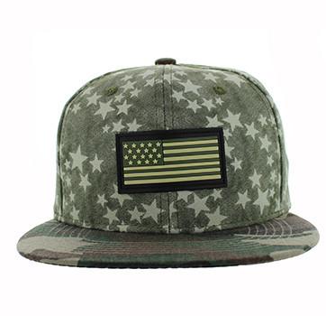 SM737 USA Flag Snapback Cap (Olive   Military Camo) - Ace Cap 9b45d8c7678