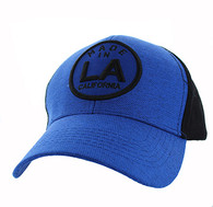VM798 Los Angeles Cotton Velcro Cap (Roayl & Black)