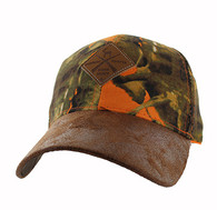 VM823 Hunting Deer Velcro Cap (Orange Camo & Brown)