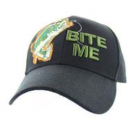 "VM711 ""Bite Me"" Velcro Cap (Solid Black)"