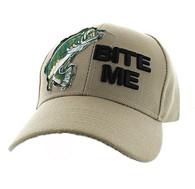 "VM711 ""Bite Me"" Velcro Cap (Solid Khaki)"