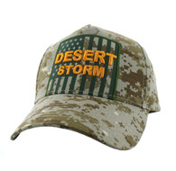 VM778 American USA Desert Storm Velcro Cap (Solid Digita Camo)
