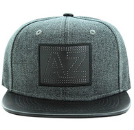 SM839 Arizona State Snapback (Charcoal & Black)