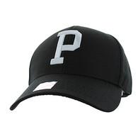 VM840 Pittsburgh Velcro Cap (Soild Black)
