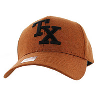 VM840 Texas State Velcro Cap (Soild Texas Orange)