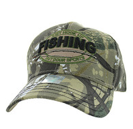 VM504 Fishing Outdoor Sports Velcro Cap (Solid Hunting Camo)